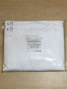 Muji Men's Short Sleeve Shirt Pack of 2. Size L. NEW