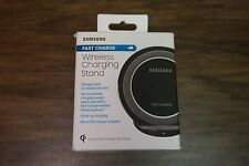 Authentic Samsung QI Fast Charge Wireless Charger Charging Stand Black Sapphire