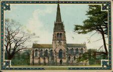 CLUMBER PARK St. Mary The Virgin Chapel Postcard nr Worksop NOTTINGHAMSHIRE