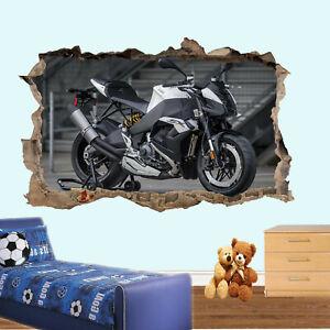Super Motorbike Wall Sticker Transfer Art Mural Decal Picture Poster Decor RR1