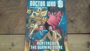 DOCTOR WHO HUNTERS OF THE BURNING STONE collected 11th Doctor comic strip vol 3