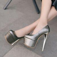 Fashion Women Heels Platform High Heels Pumps PARTY Shoes Woman Big Size 3-16