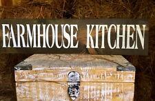 "Large Rustic Wood Sign - ""Farmhouse Kitchen"" -Fixer Upper, HGTV, Farm"