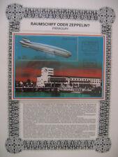Irrtümer auf Briefmarken / Paraguay Mi bl. 371 : Südamerikafahrt GRAF ZEPPELIN