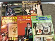 LOT( 5) WOMEN'S HOUSEHOLD CHRISTMAS BOOK 1977 MAGS-1987-MCCALL'S CREATIVE IDEAS