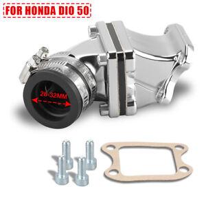 Performance Carburetor Interface Intake Manifold For Honda DIO 50 KYMCO Elite