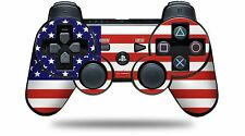 Skin for PS3 Controller USA American Flag 01 CONTROLLER NOT INCLUDED