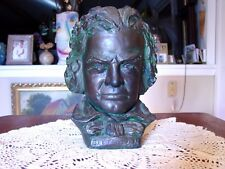 VINTAGE BEETHOVEN BUST: SIGNED BY ARTIST: NICE