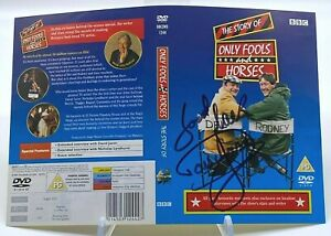 David Jason ONLY FOOLS AND HORSES Signed DVD COVER AFTAL OnlineCOA