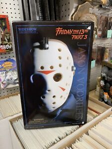Sideshow Toys Friday The 13th Part 3 Jason Voorhees 1/6 Figure Incomplete