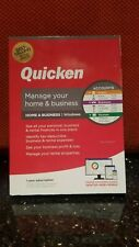 QUICKEN MANAGE YOUR HOME & BUSINESS 2020 FOR Windows CD , 1 YR SUBSCRIPTION, NEW
