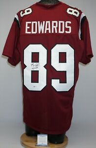 Bryan Edwards Signed USC Gamecocks Football Jersey XL Beckett WB93154 Raiders