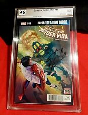 AMAZING SPIDER-MAN # 18 PCX 9.8 SIGNED BY STAN LEE ALEX ROSS COVER MARVEL 2016