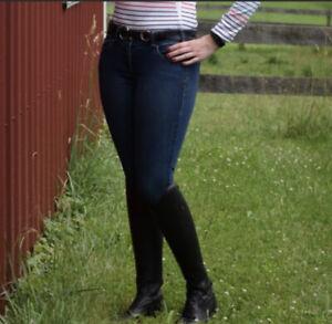 Las Mejores Ofertas En Pantalones Y Pantalones Ariat Azul Para Mujeres Ebay