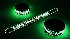 MOTIONLESS IN WHITE Glow in the Dark Rubber Bracelet Wristband Reincarnate vg170