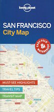 Lonely Planet San Francisco City Map *FREE SHIPPING - IN STOCK - NEW*