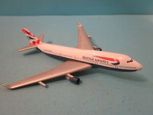Vintage Welly. Diecast Aircraft. Boeing 747. Incomplete. Good Used Condition.