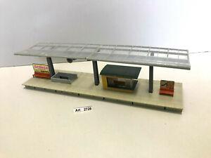 Faller B-180 H0 Bahnsteig glasüberdacht mit Kiosk, Maßstab 1:87