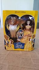 Rare Disney Special Edition Beauty and the Beast Dolls Change Beast - 88081