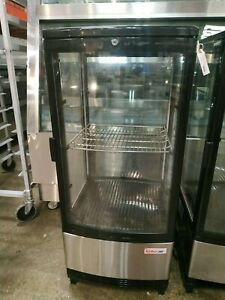 Turbo Air CRT-77-2R-N Counter top Glass Refrigerator / Cooler / Merchandiser