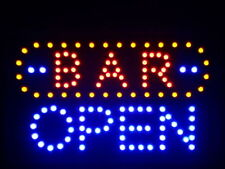 "nled072-b BAR OPEN LED Neon Sign 16"" x 10"""