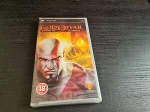 God of War Chains of Olympus (Sony PSP) NEW and SEALED. Free P+P. FAST DISPATCH.