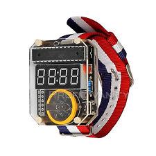 SainSmart Electronic DIY Watch Kit  Acrylic LED Digital Watch ATMega328-based