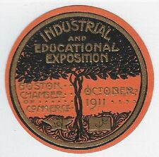 Poster stamp: 1911 Industrial and Educational Exposition, Boston - dw338