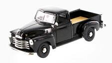 1950 Chevrolet 3100 5 Window Black Pickup Truck Die-Cast Metal 1/25 Maisto 34952