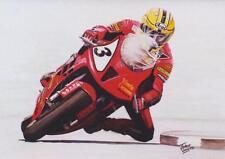 Joey Dunlop Honda sp1 Tourist Trophy MOTORBIKE motociclismo cartolina di Compleanno