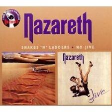 """NAZARETH """"SNAKES N LADDERS/NO JIVE (REMASTER)"""" 2 CD NEW+"""