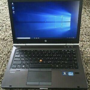 HP Laptop EliteBook 8570w QuadCore i7-3720QM 2.6GHz 16GB 500GB HDD