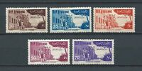 SYRIE / SYRIA - 1954 YT 56 à 60 PA / AIR MAIL - TIMBRES NEUFS* MH charnière