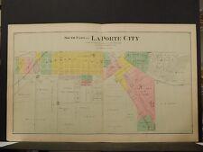 Indiana, La Porte County Map, 1892, La Porte City, Two Double Pages O4#91