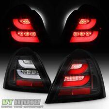Black 2004-2008 Pontiac Grand Prix Lumileds LED Tube Tail Lights Brake Lamps Set