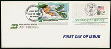 Mayfairstamps US FDC 1983 Burlington Air Freight 2nd Day Serv First Day Cover ww