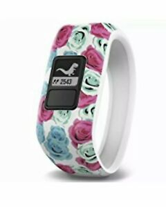 Garmin vivofit JR Activity Tracker -Real Flower Ages 4-9 Girls NEW Swin Friendly