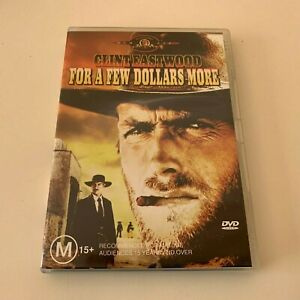 FOR A FEW DOLLARS MORE - DVD Region 4 - Clint Eastwood