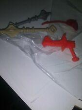vintage heman MOTU he-man weapon parts Masters of Universe