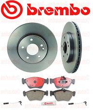 BREMBO Front Brake Kit Mercedes C230 C280 E300 SLK230 Rotors Pads Sensors