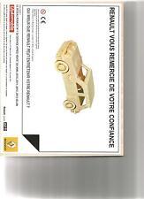 RARE Catalogue brochure Katalog Prospekt RENAULT 5 TURBO PUZZLE 3 D