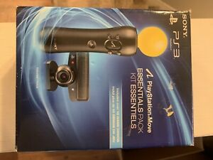 Sony Playstation 3 Move Essentials Pack PS3 Motion Control Eye Camera Complete