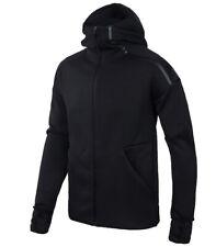 adidas Men's Zne Hoodie Zip Up Jacket Black Casual Apparel Tennis Nwt Eb5230