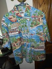 REYN SPOONER XL MENS SHIRT, ART OF EDDY ...NEAR MINT COND!!