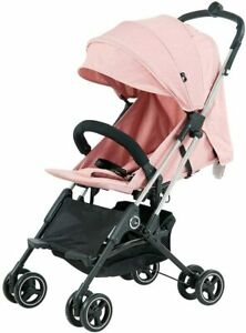 Roma Capsule² Compact Pushchair - Pink with Chrome Chassis