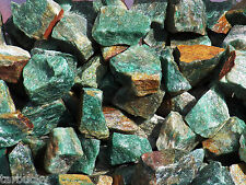 1/2 lb GREEN AVENTURINE Bulk Tumbling Rough Rock Stones Healing Crystals FS