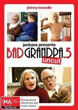 Jackass Presents Bad Grandpa.5 Uncut Johnny Knoxville Region 4 DVD Sealed