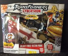 HASBRO TRANSFORMERS CYBERTRON ROBOTS IN DISGUISE GALAXY FORCE VECTOR PRIME MIP