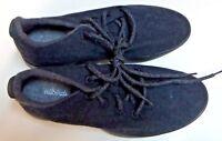 Allbirds Mens Wool Runner Natural Black With Black Sole Size 9