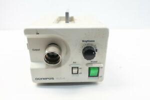 Olympus CLK-4 Fiberscope Halogen Light Source 120v-ac